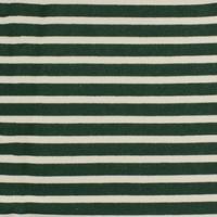 Molleton vert rayé écru 20 x 180 cm
