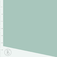 Jersey Interlock Dusty Mint 20 x 160 cm