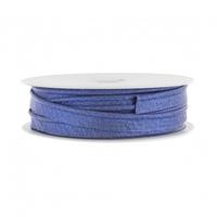 Passepoil lurex bleu jean 1m