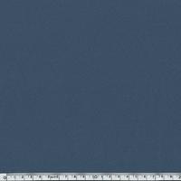 Crêpe de polyester lisse bleu 20 x 150 cm