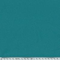 DERNIER COUPON Crêpe de polyester lisse vert émeraude 45 x 150 cm