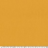 Crêpe de polyester lisse moutarde 20 x 150 cm