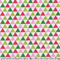 Tissu REMIX  - Triangle Garden 20 x 110 cm