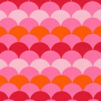 Tissu Hello Tokyo coloris sweet 20 x 110 cm