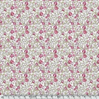 EXCLU Liberty Gabardine Stretch Eloise Rose 20 x 140 cm