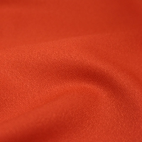 DERNIER COUPON   Tissu Crêpe Tangerine 55 x 140 cm