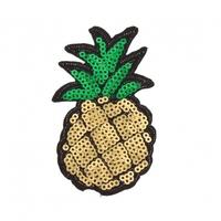 Thermocollant ananas 8,5x4,3cm