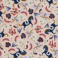 Tissu Rifle Paper Les Fleurs Carousel 20 x 110 cm
