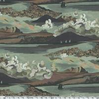Liberty Sandy Ray beaujolais coloris B 20 x 137 cm