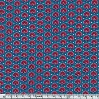 Liberty Seth Rankine rose et bleu coloris B 20 x 137 cm
