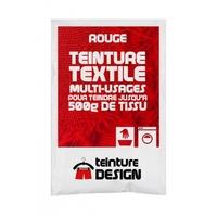 Teinture textile 10g rouge
