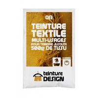 Teinture textile 10g or