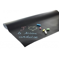 Tissu ardoise tableau noir 20 x 140 cm