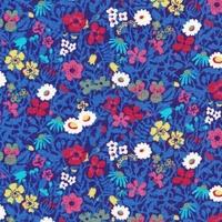 Liberty Fitzgerald bleu coloris D 20x 137 cm