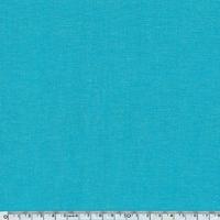 Tissu coton effet chambray émeraude 20 x 140 cm