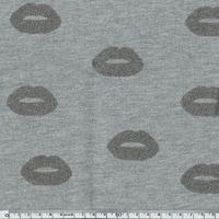Sweat léger Kiss argent 20 x 140 cm