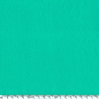 DERNIER COUPON  Viscose légère vert émeraude 140 x 140 cm
