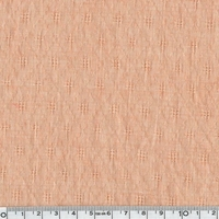 Tissu gaze ajourée coloris nude 20 x 140 cm