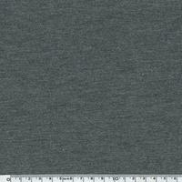 DERNIER COUPON jersey viscose gris chiné 75 x 140 cm
