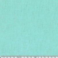 Tissu viscose et lin coloris vert d'eau 20 x 140 cm