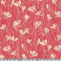 COUPON Liberty Hesketh rouge 45 x 65 cm