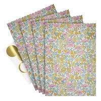 10 sachets en papier Liberty Poppy Daisy