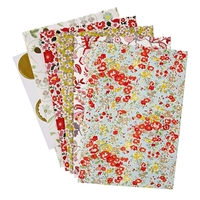 10 sachets en papier Liberty coloris assortis