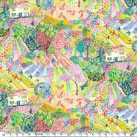 Liberty Royal Oak House summer coloris A 20 x 137 cm