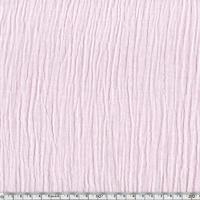 Tissu double gaze de coton coloris rose clair 20 x 135 cm