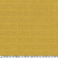 Tissu lange coloris moutarde 20 x 150 cm