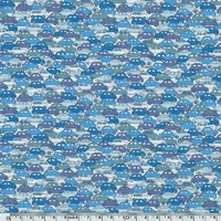 Liberty Cars bleu coloris B 20 x 137 cm