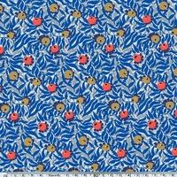 Liberty Huckleberry bleu coloris B 20 x 137 cm