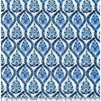 Liberty Bohemia bleu coloris A 20 x 137 cm