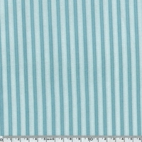 Tissu Gorjuss rayures bleu et bleu 20 x 110 cm