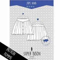 Patron - Jupe Nina (du 34 au 46)
