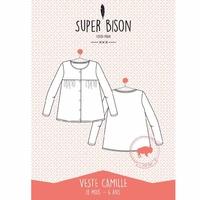 Patron - veste Camille petit enfant (du 18 mois au 6 ans)
