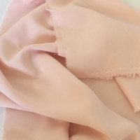 Viscose fine coloris nude 20 x 140 cm