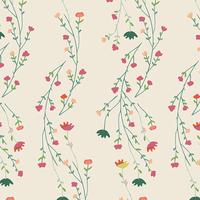 Tissu Garden Dreamer Climbing Posies Pale 20 x 110 cm