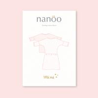 Patron robe et top Nanöo enfant