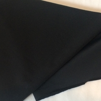 Lycra mat coloris noir 20 x 140 cm