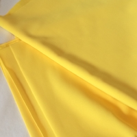 Lycra mat coloris jaune 20 x 140 cm