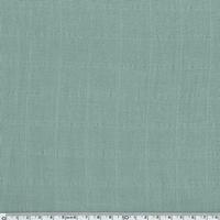 Tissu lange uni coloris eucalyptus 20 x 140 cm