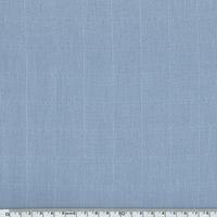 Tissu lange uni coloris bleu 20 x 140 cm