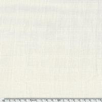 Tissu lange uni coloris crème 20 x 140 cm