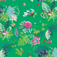 Tissu Club Tropicana Fleurs 20 x 110 cm