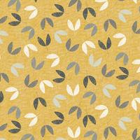 Tissu Bird Song Flowers Fleurs 20 x 110 cm