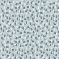 Tissu Bird Song Rain Drops Gouttes de pluie 20 x 110 cm