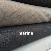 Molleton à paillettes coloris marine 20 x 140 cm