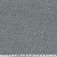 Jersey matelassé gris moyen chiné 20 x 150 cm