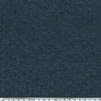 Jersey matelassé marine chiné 20 x 150 cm